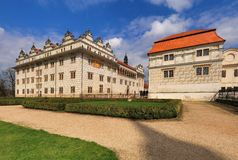 Litomysl castle in Czech republic Royalty Free Stock Images