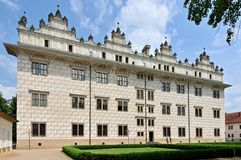Litomysl Castle. The historical building of Litomysl castle in Czech Republic Stock Photos