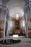 Litomysl, Czech republic. Church of finding the Holy Cross  in the Litomysl, eastern Bohemia, Czech republic - UNESCO Stock Photos