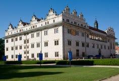 Litomysl, Czech republic. Renaissance castle Litomysl in eastern Bohemia, Czech Republic Stock Image