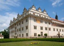 Litomysl, Czech republic. Renaissance castle Litomysl in eastern Bohemia, Czech Republic Royalty Free Stock Photos