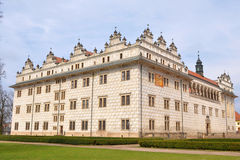 Litomysl do castelo fotos de stock