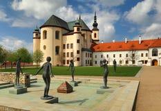 Litomysl monastery in Bohemia Stock Photography