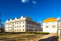 Litomysl Pałac Zdjęcie Royalty Free