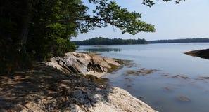 litoral imagen de archivo libre de regalías