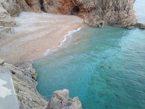 litoral bonito Foto de Stock Royalty Free