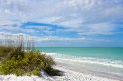 Litoral bonito de Florida foto de stock