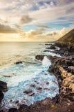 Litoral bonito de Oahu ocidental Foto de Stock Royalty Free