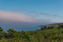 Litoral da ilha de Brier foto de stock royalty free