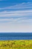 Litoral da praia no verão Foto de Stock Royalty Free