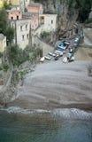 Litoral de Amalfi, Itália Imagem de Stock