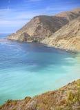 Litoral de Califórnia ao longo da estrada da Costa do Pacífico Fotografia de Stock Royalty Free