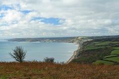 Litoral de Dorset fotos de stock royalty free