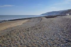 Litoral de Eastbourne, East Sussex, Reino Unido fotografia de stock