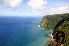 Litoral de Havaí Imagem de Stock