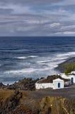 Litoral de Lanzarote imagens de stock