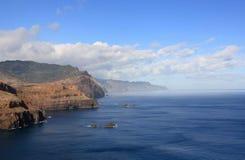 Litoral de Madeira Fotografia de Stock