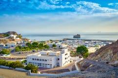 Litoral de Muscat Imagens de Stock