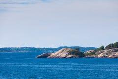 Litoral de pedra norueguês imagem de stock royalty free