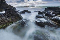Litoral de Rocky North Ireland Foto de Stock
