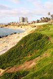 Litoral de San Diego em La Jolla Fotografia de Stock Royalty Free