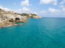 Litoral de Tarragona imagem de stock royalty free