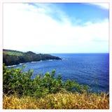 Litoral de Wailuku em Maui Fotos de Stock Royalty Free