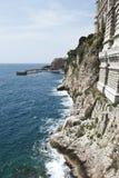 Litoral do mar Mediterrâneo Fotografia de Stock Royalty Free