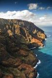 Litoral do Na Pali, Kauai Foto de Stock