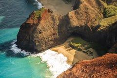 Litoral do Na Pali, Kauai Fotos de Stock