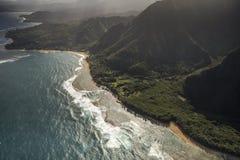 Litoral do Na Pali, Kauai Imagem de Stock