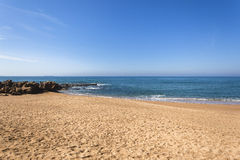 Litoral do oceano da praia Fotos de Stock Royalty Free