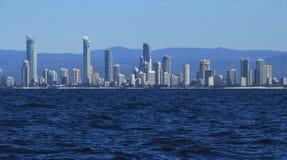 Litoral dos surfistas paraíso, Gold Coast Imagens de Stock Royalty Free