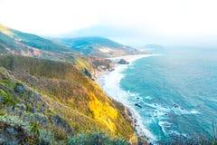 Litoral em Big Sur, Califórnia foto de stock royalty free