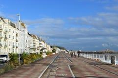 Litoral em Hastings Fotos de Stock Royalty Free