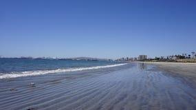 Litoral em Long Beach Fotografia de Stock