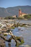 Litoral em Toscânia, Italy Foto de Stock Royalty Free