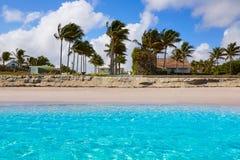 Litoral Florida E.U. da praia do Palm Beach Foto de Stock