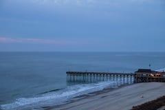 Litoral grande da costa Foto de Stock Royalty Free