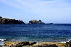 Litoral, ilha verde, Taiwan Fotografia de Stock