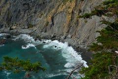 Litoral lindo de Califórnia da costa central de Big Sur Fotografia de Stock