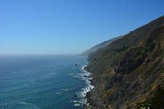 Litoral lindo de Califórnia da costa central de Big Sur Fotografia de Stock Royalty Free