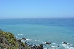 Litoral lindo de Califórnia da costa central de Big Sur Imagem de Stock Royalty Free