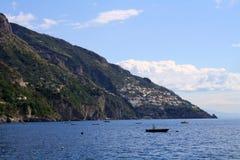 Litoral mediterrâneo Fotografia de Stock Royalty Free