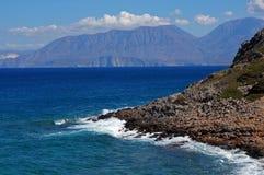 Litoral mediterrâneo Imagem de Stock
