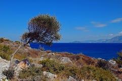 Litoral mediterrâneo Imagens de Stock