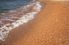 Litoral no mar Imagem de Stock