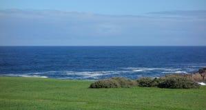 Litoral no Oceano Atlântico Imagem de Stock Royalty Free