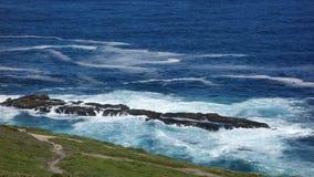 Litoral no Oceano Atlântico Fotos de Stock