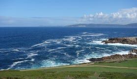 Litoral no Oceano Atlântico Imagens de Stock